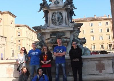 Pomnik Neptuna przy głównym placy Bolonii