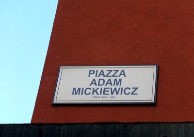I znowu wątek mickiewiczowski w Bolonii