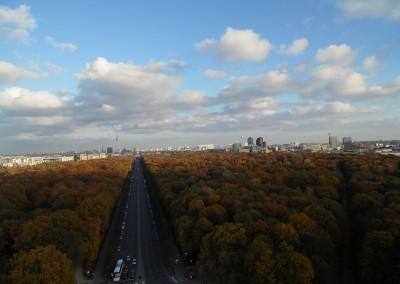 Berlin jesienią